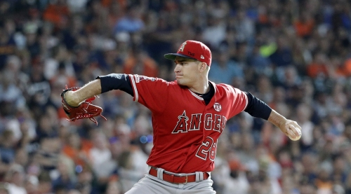 Andrew Heaney heads to injured list in another blow to Angels' rotation
