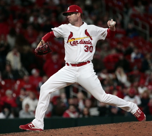 Cardinals' carousel of relievers continues with Webb up, two sent to Memphis