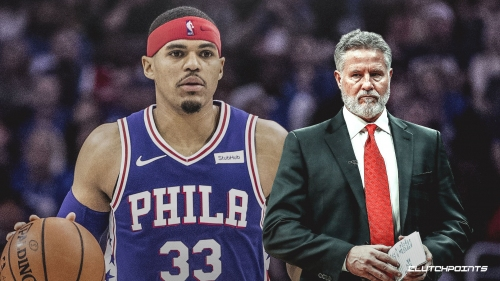 Brett Brown admitted to Tobias Harris he could've been used as a 1st option more often