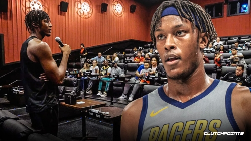 Myles Turner dedicated to using his platform to help people in the community