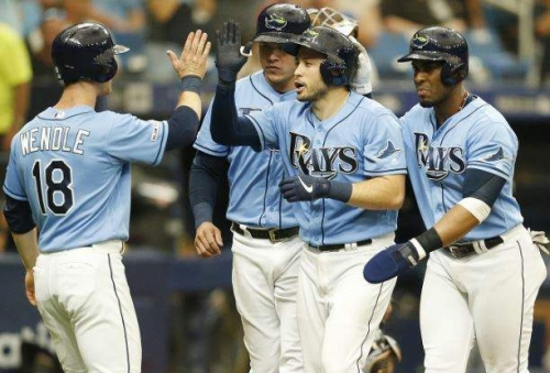 d'Arnaud delivers again as Rays end 5-game skid with 4-2 win over White Sox