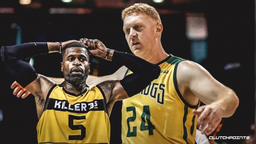 Video: Brian Scalabrine stuffs Stephen Jackson at the rim in BIG3