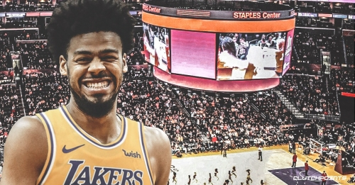 Quinn Cook says joining Lakers is a 'dream come true' because of what they meant to him and his dad when he was growing up