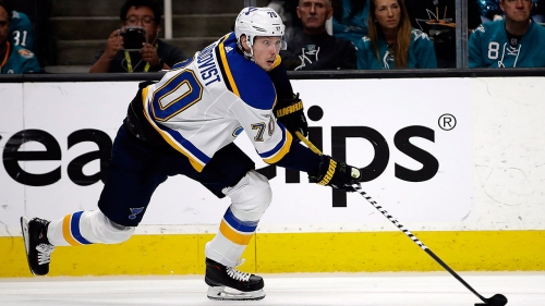 Sundqvist agrees to 4-year, $11M deal to return to Blues