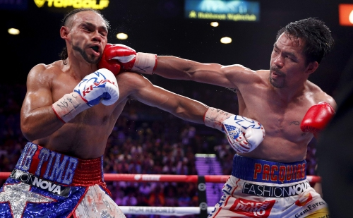 Taking down a legend was more than Thurman could handle. This time.