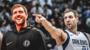 Mavs legend Dirk Nowitzki says the offseason moves were crazy, admits it's 'good for business'