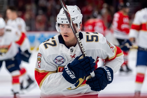 MacKenzie Weegar Re-Signs With The Florida Panthers