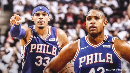 Al Horford's salary declines each year with Sixers, Tobias Harris making max-level money in 1st year of contract