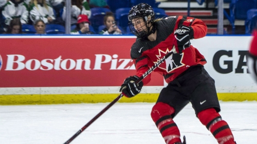 Women's hockey players staying optimistic despite uncertain future