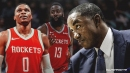 Isiah Thomas explains how Russell Westbrook and James Harden will fit together on Rockets