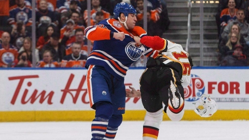Can Lucic bring the toughness that Flames need next season?