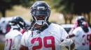 Report: Falcons' J.J. Wilcox leaves practice due to an injury