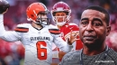 Cris Carter thinks Browns' Baker Mayfield has an advantage over Chiefs' Patrick Mahomes