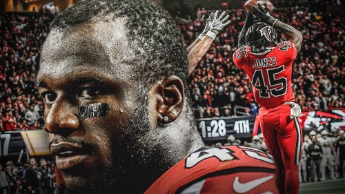 Falcons LB Deion Jones will 'stay motivated' after new contract