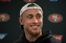 Watch: 49ers' George Kittle displays incredible show of strength
