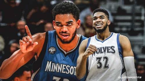 Karl-Anthony Towns says he's 'tremendously' happy,' plans to be with Timberwolves 'for a long time'