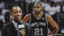 Former Spurs champion and current TV analyst Sean Elliott says it's 'awesome' Tim Duncan is becoming an assistant coach