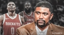 Jalen Rose says Rockets' James Harden will have to do things on the floor with Russell Westbrook which he didn't do with Chris Paul