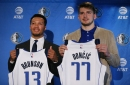 Mavs' Jalen Brunson talks basketball, video games, and how annoying Luka Doncic really is in Twitter Q&A