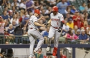 Eugenio Suarez homers twice to rescue Reds in 6-5 win over Brewers