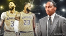 Stephen A. Smith ranks LeBron James-Anthony Davis tandem as best duo in NBA; Stephen Curry-Klay Thompson second
