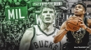 Bucks' Kyle Korver helping Giannis Antetokounmpo improve his shot