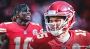 Patrick Mahomes excited to have Tyreek Hill back with Kansas City