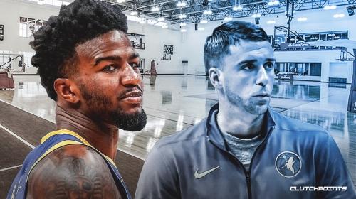 Timberwolves' Jordan Bell talked with Ryan Saunders about Drake, jokes Warriors' Steve Kerr never did that