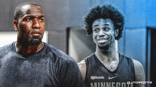 Kendrick Perkins does not approve of Timberwolves forward Andrew Wiggins' afro
