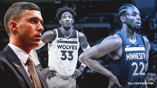 Timberwolves' Ryan Saunders says it's possible Robert Covington plays as PF; likes Andre Wiggins as SG