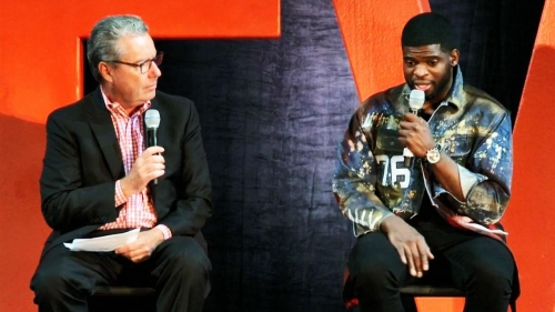 P.K. Subban discusses process of joining New Jersey Devils