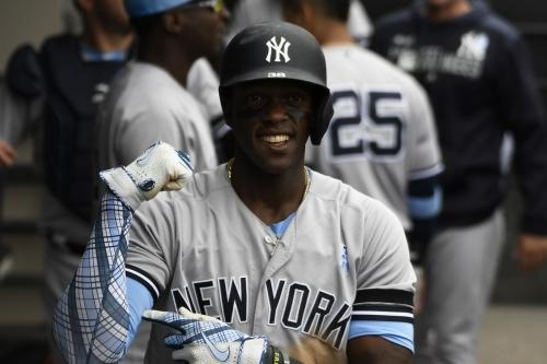 Yankees activate Cameron Maybin, option Stephen Tarpley to Triple-A