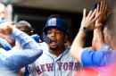 Mets place Dominic Smith on injured list, recall Aaron Altherr