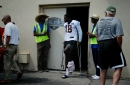 Bengals wide receiver A.J. Green goes down with injury on first day of training camp