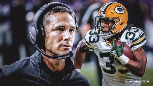 Matt LaFleur loves Packers running back Aaron Jones