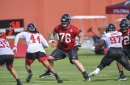 Falcons training camp: Observations on the offensive line