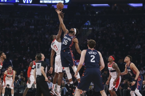 Bobby Portis confirmed that the Knicks plan to start Mitchell Robinson at center