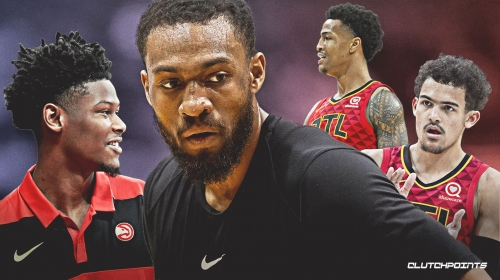 Jabari Parker excited to play with new Hawks' teammates Trae Young, John Collins, Cam Reddish