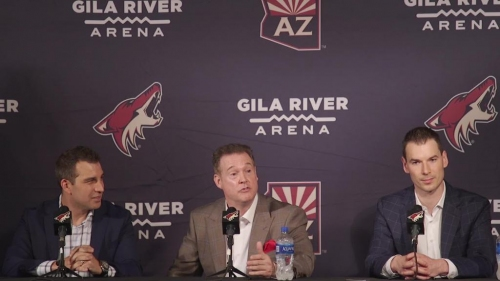 Arizona Coyotes introduce new owner Alex Meruelo