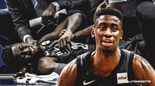 Caris LeVert says recovery from dislocated foot was 'one of the toughest things I had to go through'