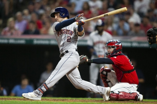 Baseball done right. Astros overwhelm Indians 7-1