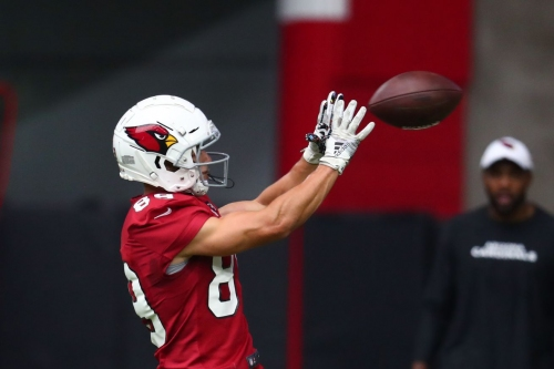 Andy Isabella misses Friday practice for the Arizona Cardinals
