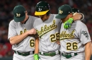 Athletics add Piscotty and a catcher; part ways with three players