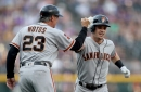 Posey rips 100-mile per hour pitch for go-ahead double, lifts Giants to comeback win