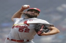 Wacha seeks to seize hold of a spot in the rotation as Cardinals visit Dodgers