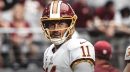 Redskins QB Alex Smith 'optimistic' as he comes back from gruesome leg injury