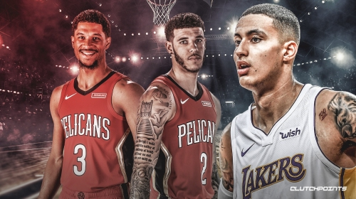 Lakers' Kyle Kuzma thinks Josh Hart, Lonzo Ball, Brandon Ingram are in an 'unbelievable situation' with Pelicans