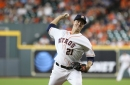 Greinke wins first game as Astro behind 4 homers. Houston over Rockies 11-6.