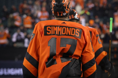 Photo Gallery: Wayne Simmonds