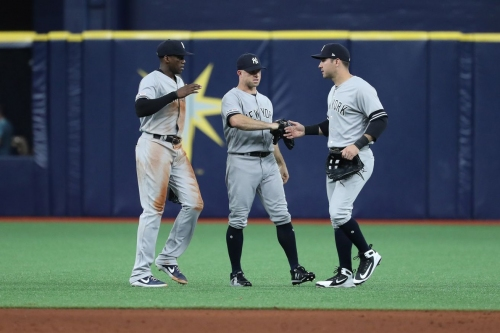 The Yankees front office will face tough outfield decisions this offseason